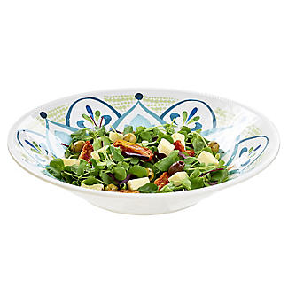 Moroccan Bloom Melamine Salad Bowl alt image 4