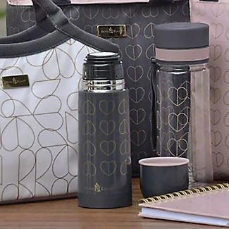 Beau and Elliot Dove Grey Vacuum Flask 350ml alt image 2