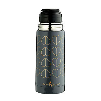 Beau and Elliot Dove Grey Vacuum Flask 350ml alt image 5