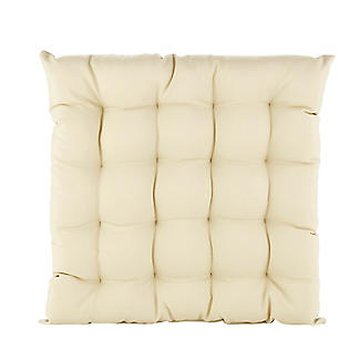 Square Weatherproof Outdoor Cushion Almond alt image 2