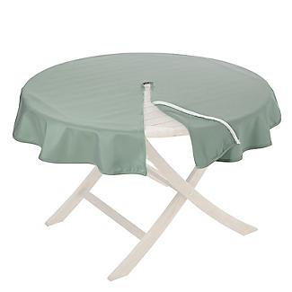 Round Weatherproof Outdoor Tablecloth Sage
