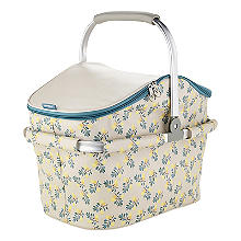 Lemon Grove Picnic Cooler Basket 22L