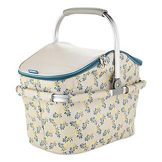 Lemon Grove Picnic Cooler Basket 22L