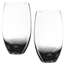 Bubble Glass Tumblers - Set of 2