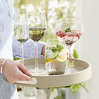 Bubble Glass Tumblers - Set of 2 alt image 3