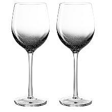 Weingläser mit Luftblasendesign – 2er-Set