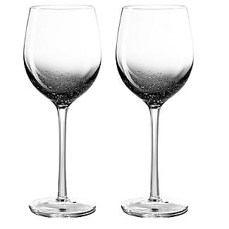Bubble Wine Glasses - Set of 2 alt image 1