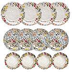 Lemon Grove Melamine 12 Piece Dinner Set
