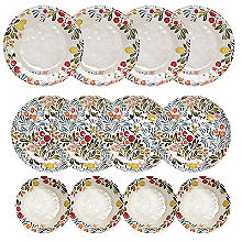 Lemon Grove Melamine 12 Piece Dinner Set