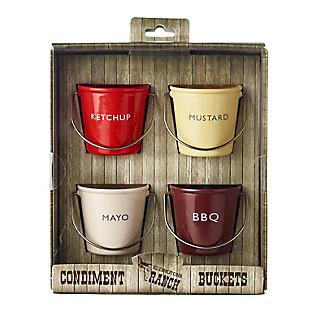 Eddingtons Ranch Ketchup Mayo BBQ and Mustard Condiment Buckets alt image 3