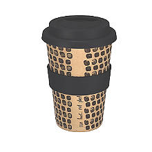 Huskup Reusable Eco Coffee Cup – Pebbles 400ml