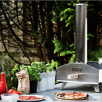 Ooni 3 Outdoor Oven with Cover and 10Kg Pellets Bundle alt image 2