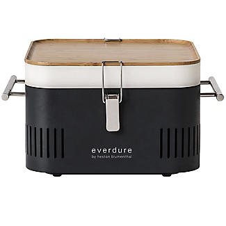 Everdure By Heston Blumenthal Cube Charcoal BBQ and Carry Bag Bundle alt image 2