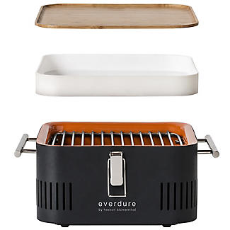 Everdure By Heston Blumenthal Cube Charcoal BBQ and Carry Bag Bundle alt image 4