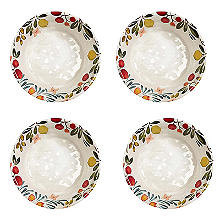 Lemon Grove Melamine 4 Piece Bowl Set