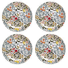 Lemon Grove Melamine 4 Piece Side Plate Set