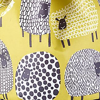 Dotty Sheep Drawstring Oilcloth Peg Bag alt image 2