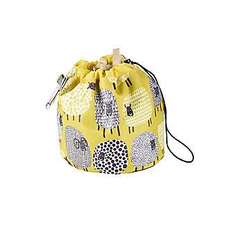 Dotty Sheep Drawstring Oilcloth Peg Bag alt image 6
