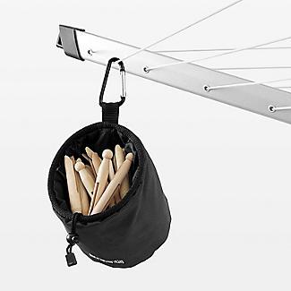 Brabantia Premium Peg Bag Black