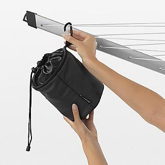 Brabantia Premium Peg Bag Black alt image 3