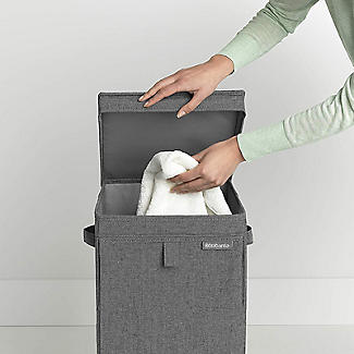 Brabantia Stackable Laundry Box Pepper Black 35L alt image 4