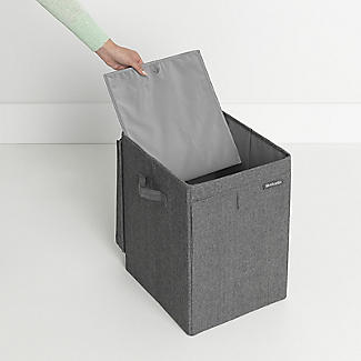 Brabantia Stackable Laundry Box Pepper Black 35L alt image 9