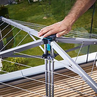 Leifheit LinoPop-Up 140 Portable Airer alt image 4