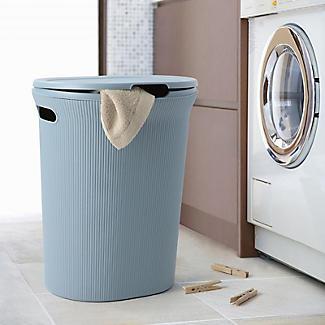 Tatay Laundry Hamper Blue 40L alt image 2