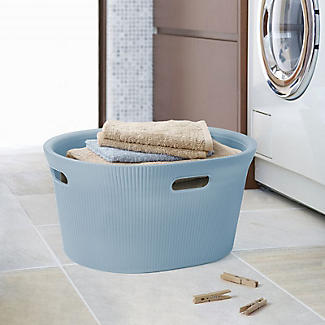 Tatay Laundry Basket Blue 35L alt image 2