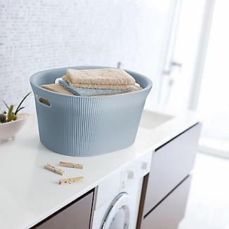 Tatay Laundry Basket Blue 35L alt image 3