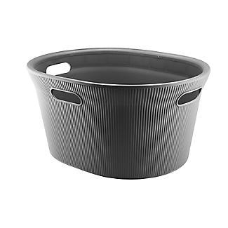 Tatay Laundry Basket Anthracite Grey 35L