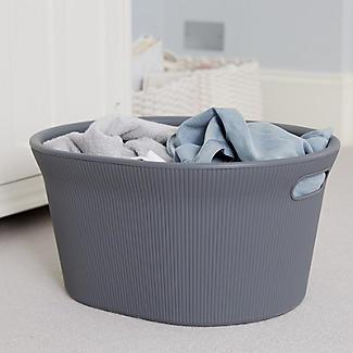 Tatay Laundry Basket Anthracite Grey 35L alt image 2