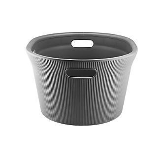 Tatay Laundry Basket Anthracite Grey 35L alt image 3