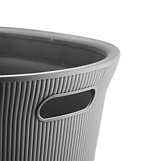 Tatay Laundry Basket Anthracite Grey 35L alt image 4