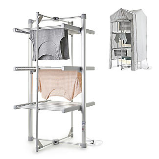 Dry:Soon Mini 3-Tier Heated Airer and Cover Offer Bundle