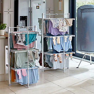 Dry:Soon Mini 3-Tier Heated Airer and Cover Offer Bundle alt image 2