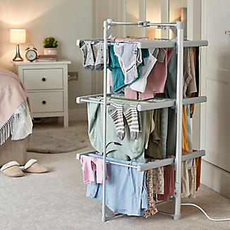 Dry:Soon Mini 3-Tier Heated Airer and Cover Offer Bundle alt image 4