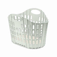 Addis Folding Laundry Basket Mushroom 38L