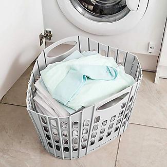 Addis Folding Laundry Basket Mushroom 38L alt image 7