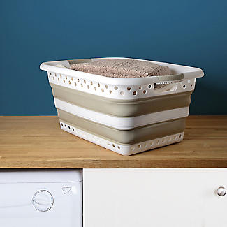 Lakeland Collapsible Laundry Basket 39L alt image 5