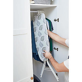 Easy-Store Mini Ironing Board with Hanger Hook alt image 2