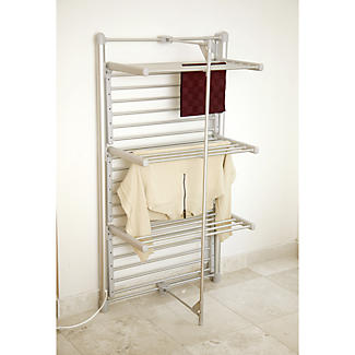 Dry:Soon 3-Tier Heated Airer and Blue Cover Offer Bundle alt image 5
