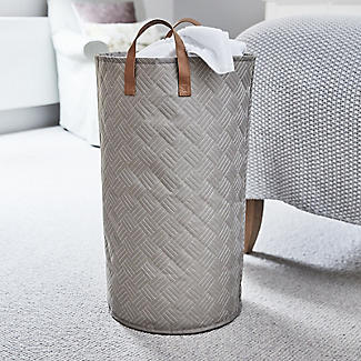 Quilted Standing Laundry Tote alt image 2