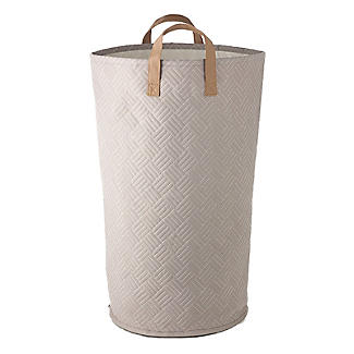 Quilted Standing Laundry Tote alt image 3