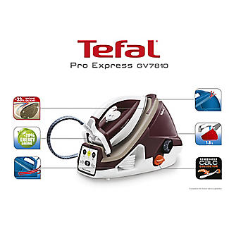 Tefal Pro Express High Pressure Steam Generator Iron 6.6 Bar GV7810 alt image 4