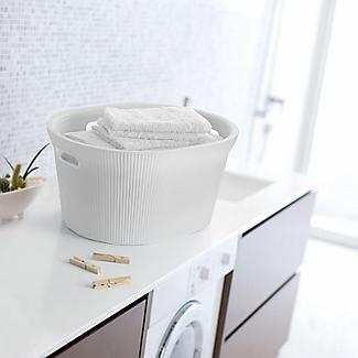 Tatay Laundry Basket White 35L alt image 3