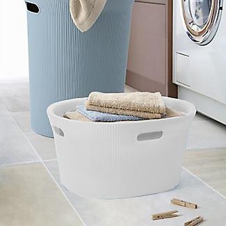 Tatay Laundry Basket White 35L alt image 5