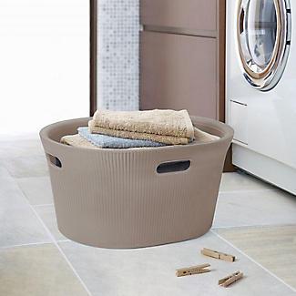 Tatay Laundry Basket Taupe 35L alt image 2