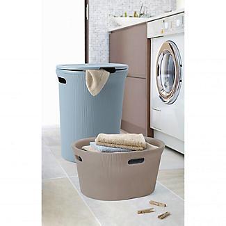 Tatay Laundry Basket Taupe 35L alt image 3
