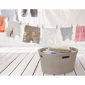 Tatay Laundry Basket Taupe 35L alt image 4